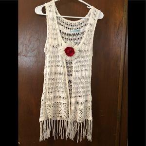 Ladies Crocheted Vest